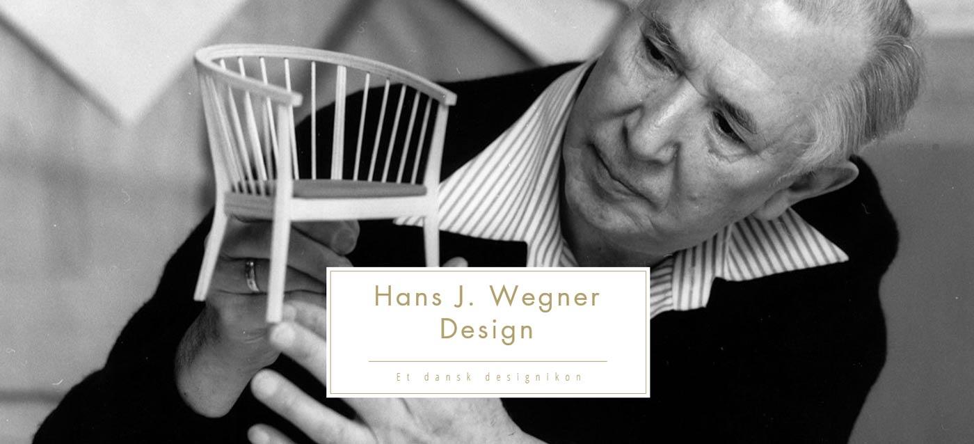 Besøg vores website omkring Hans J. Wegner
