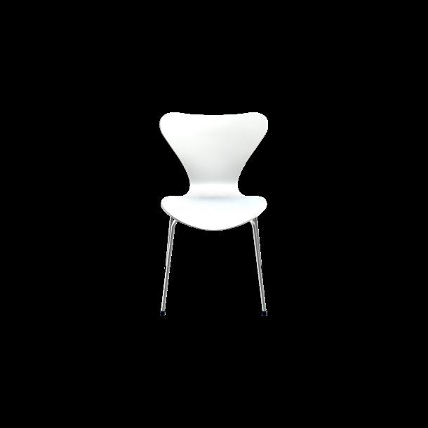 3107, Stol, Hvid Lakeret - Arne Jacobsen