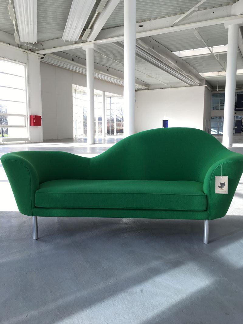 Udstillingsmodel - Gubi Grand Piano sofa - grøn Hallingdal
