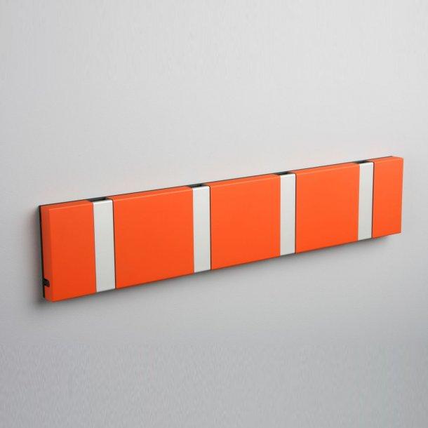 Knax knagerække Orange lakeret
