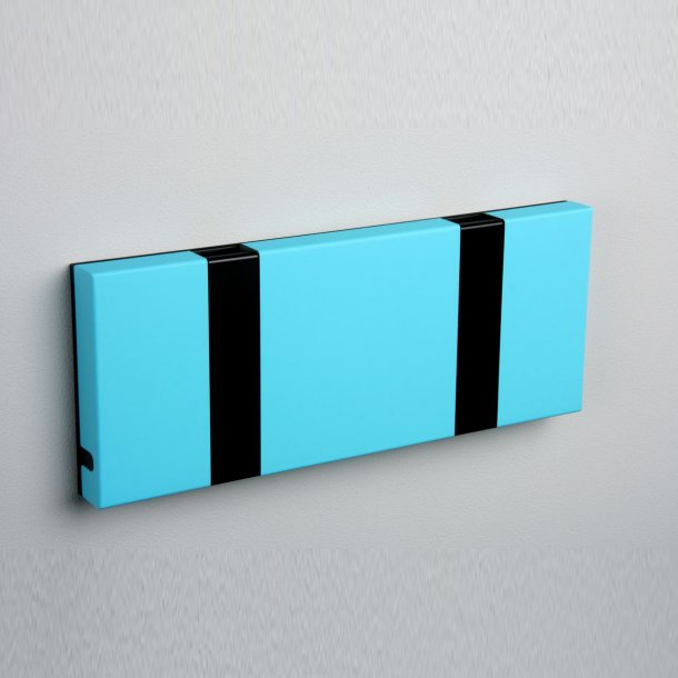 Knax knagerække Turquoise lakeret