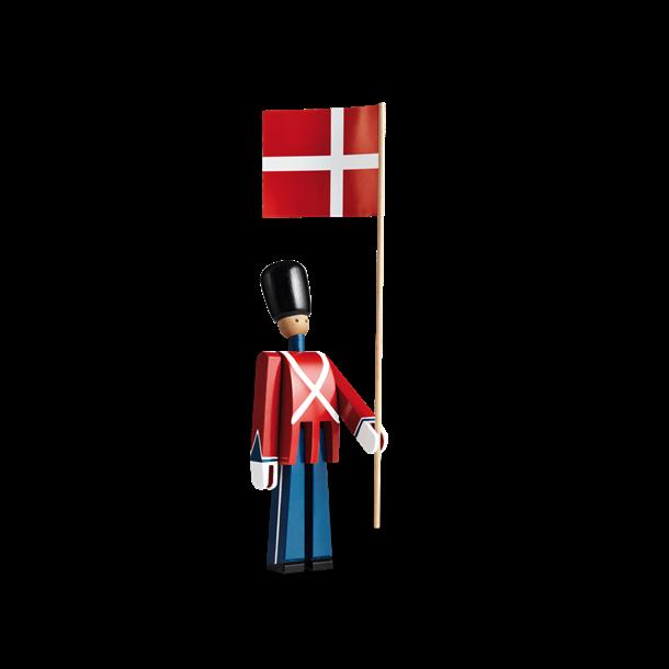 KAY BOJESEN Garde med flag