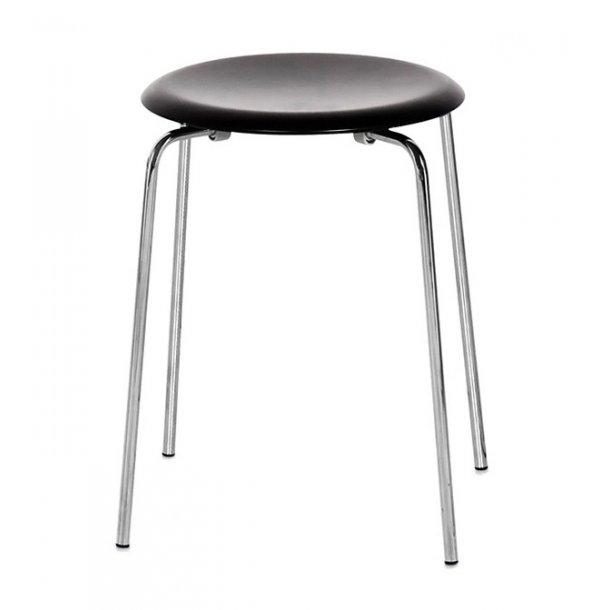 Dot skammel - Sort - Design Arne Jacobsen