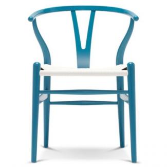 Y-stol med hvid flet