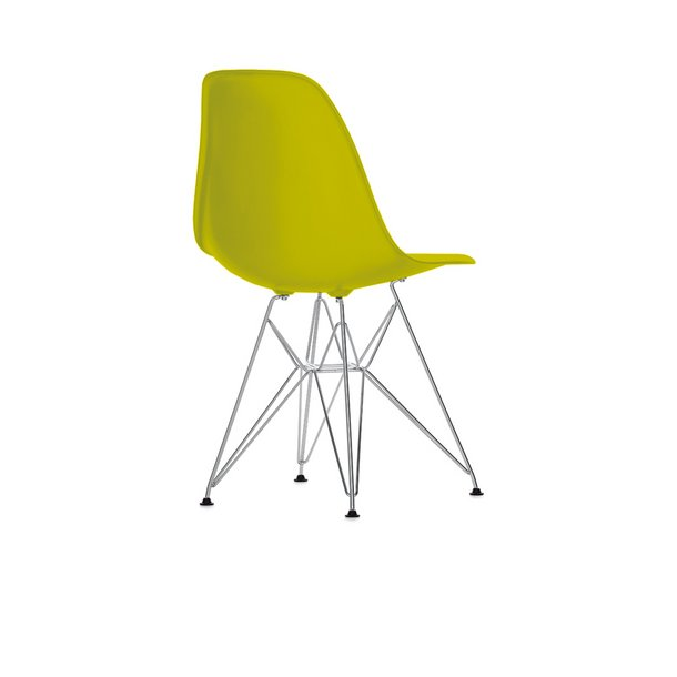 Eames DSR stol Mustard/Sennepsgul