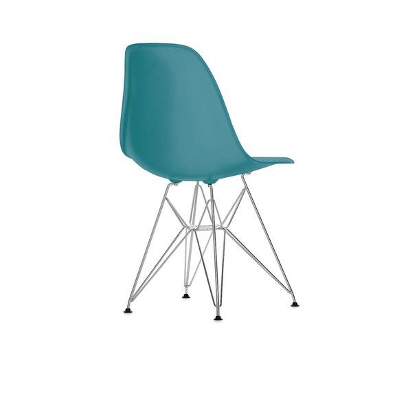 Eames DSR stol Ocean/Blågrøn
