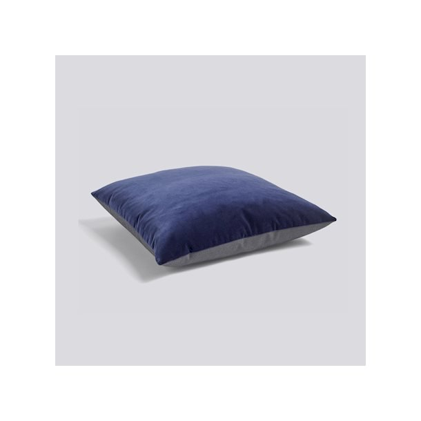 HAY Eclectic pude Soft navy 50x50cm