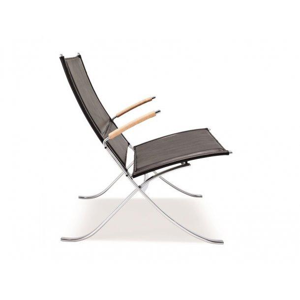 FK 82 X Chair - Sort læder