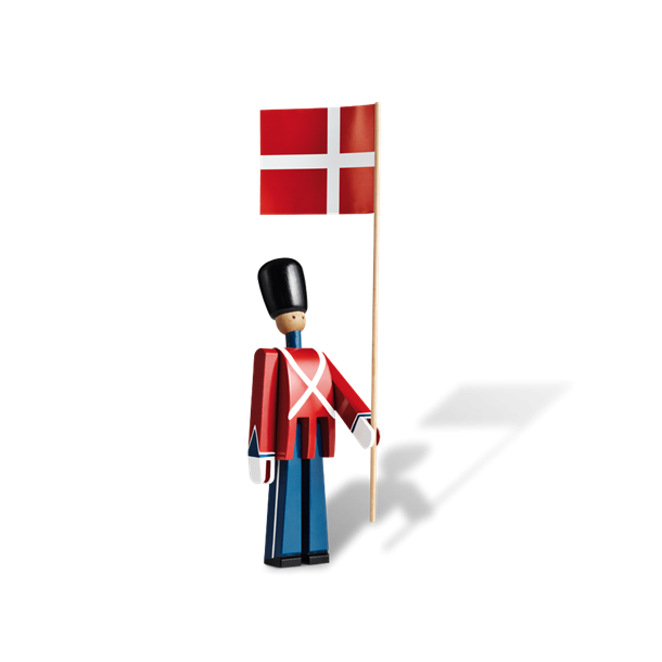 kay bojesen garder med flag