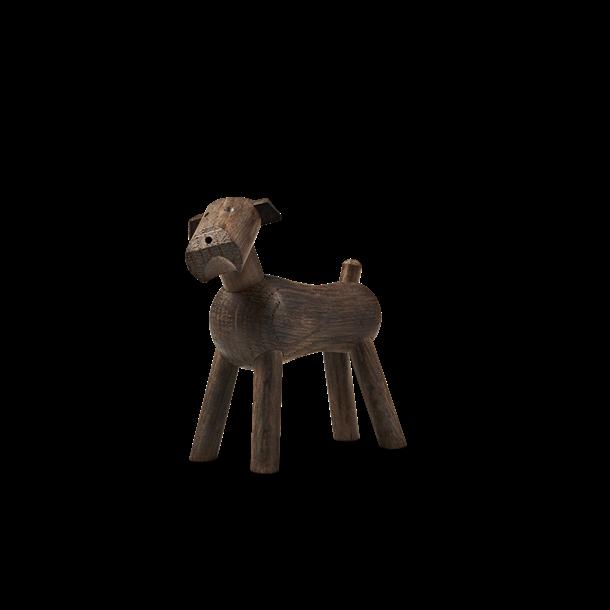Kay Bojesen Hund Røget eg, 7,5 cm