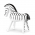 Kay Bojesen Zebra Sort og hvid, 14 cm