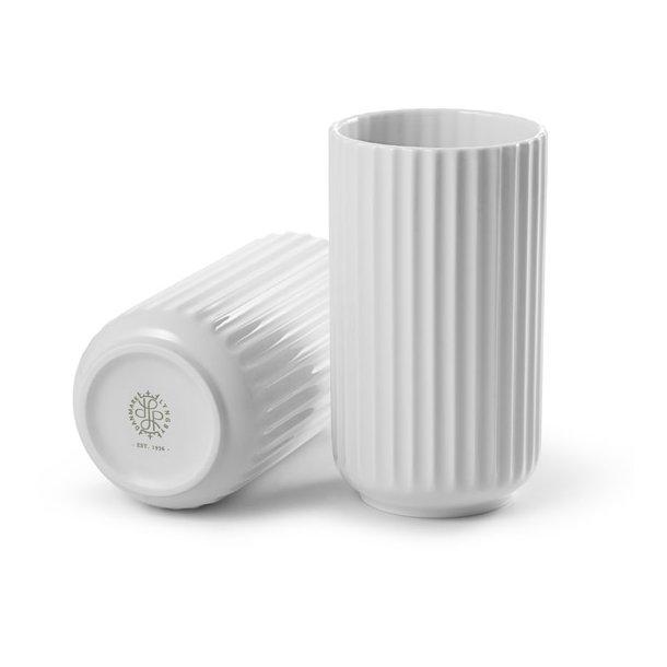 Lyngby vase 15 cm, hvid