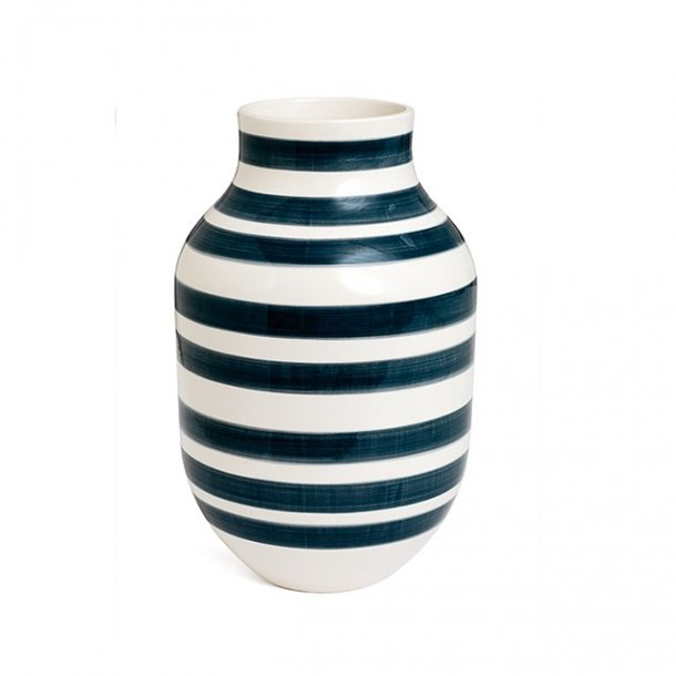 KÂHLER Omggio Vase Granitgrå