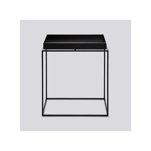 TRAY TABLE / SQUARE M - L40 X W40 BLACK