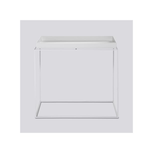 TRAY TABLE / REQTANGULAR L40 X W60 SIDE WHITE